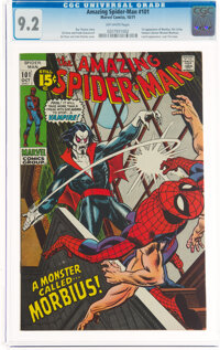 The Amazing Spider-Man #101 (Marvel, 1971) CGC NM- 9.2 Off-white pages