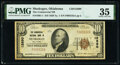 National Bank Notes:Oklahoma, Muskogee, OK - $10 1929 Ty. 1 The Commercial National Bank Ch. # 12890 PMG Choice Very Fine 35.. ...