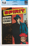 Golden Age (1938-1955):Superhero, The Spirit #10 (Quality, 1947) CGC VF/NM 9.0 Off-white to white pages....