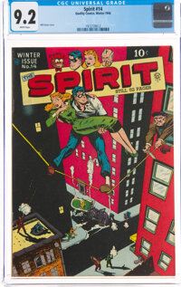 The Spirit #14 (Quality, 1948) CGC NM- 9.2 White pages