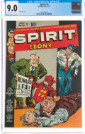 Golden Age (1938-1955):Crime, The Spirit #16 (Quality, 1949) CGC VF/NM 9.0 Off-white to white pages....
