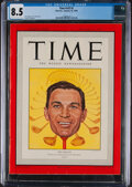 Golf Collectibles:Miscellaneous, 1949 Time Magazine Ben Hogan Cover - CGC 8.5...