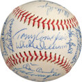 Baseball Collectibles:Balls, 1967 Boston Red Sox Team Signed Baseball from The Rico Petrocelli Collection. ...