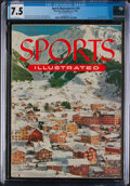 Miscellaneous Collectibles:General, 1954 Sports Illustrated Toni Frissell Cover - CGC 7.5 Pop 1 None Higher....
