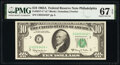 Small Size:Federal Reserve Notes, Fr. 2017-C* $10 1963A Federal Reserve Star Note. PMG Superb Gem Unc 67 EPQ.. ...