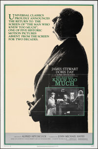 """The Man Who Knew Too Much & Other Lot (Universal, R-1983). Folded, Very Fine. One Sheets (2) (27"""" X 41"""")..."""