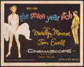 """Movie Posters:Comedy, The Seven Year Itch (20th Century Fox, 1955). Fine+. Title Lobby Card (11"""" X 14""""). Comedy.. ..."""