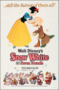 """Movie Posters:Animation, Snow White and the Seven Dwarfs & Other Lot (Buena Vista, R-1967). Folded, Very Fine-. One Sheets (2) (27"""" X 41"""") Style A. A... (Total: 2 Items)"""