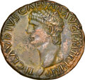 Ancients:Roman Imperial, Ancients: Claudius I (AD 41-54). AE as (28mm, 11.37 gm, 6h). NGC AU 5/5 - 3/5....