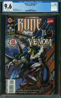 Modern Age (1980-Present):Superhero, Rune Vs. Venom #1 (Marvel/Malibu, 1995) CGC NM+ 9.6 White pages.