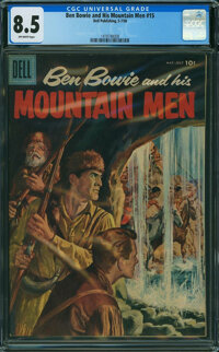 Ben Bowie and His Mountain Men #15 (Dell, 1958) CGC VF+ 8.5 Off-white pages