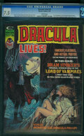 Magazines:Horror, Dracula Lives! #5 (Marvel, 1974) CGC VF- 7.5 White pages.