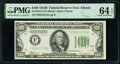 Small Size:Federal Reserve Notes, Fr. 2154-F $100 1934B Federal Reserve Note. PMG Choice Uncirculated 64 EPQ.. ...