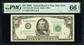 Fr. 2110-B $50 1950C Federal Reserve Note. PMG Gem Uncirculated 66 EPQ