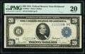 Large Size:Federal Reserve Notes, Fr. 983a* $20 1914 Federal Reserve Star Note PMG Very Fine 20.. ...