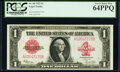 Large Size:Legal Tender Notes, Fr. 40 $1 1923 Legal Tender PCGS Very Choice New 64PPQ.. ...