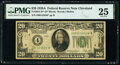 Fr. 2051-D* $20 1928A Federal Reserve Star Note. PMG Very Fine 25