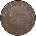 Civil War Merchants, 1865 Miners Brewery & Bakery, Idaho City, Idaho, MS61 NGC. Fuld-ID350A-1a, Rulau-Id-IC-3, R.7....