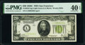 Fr. 2053-L $20 1928C Federal Reserve Note. PMG Extremely Fine 40 EPQ
