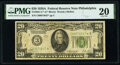 Fr. 2051-C* $20 1928A Federal Reserve Star Note. PMG Very Fine 20