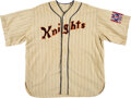 """Baseball Collectibles:Uniforms, 1984 Film Worn New York Knights Jersey from """"The Natural.""""..."""