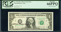 Small Size:Federal Reserve Notes, Katherine Davalos Ortega Courtesy Autographed Fr. 1912-B* $1 1981A Federal Reserve Star Note. PCGS Gem New 66PPQ;. Katheri... (Total: 2 notes)
