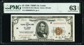 Small Size:Federal Reserve Bank Notes, Fr. 1850-H $5 1929 Federal Reserve Bank Note. PMG Choice Uncirculated 63 EPQ.. ...