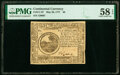 Colonial Notes:Continental Congress Issues, Continental Currency May 20, 1777 $6 PMG Choice About Unc 58 EPQ.. ...