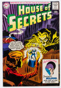 Silver Age (1956-1969):Horror, House of Secrets #61 (DC, 1963) Condition: FN+....