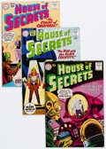 Silver Age (1956-1969):Horror, House of Secrets Group of 7 (DC, 1960-63) Condition: Average VG+.... (Total: 7 Comic Books)