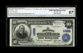 National Bank Notes:Pennsylvania, Allentown, PA - $10 1902 Plain Back Fr. 624 The Allentown NB Ch. #1322. ...