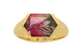 Estate Jewelry:Rings, Parti-Colored Tourmaline, Gold Ring, Atelier Tom Munsteiner. ...