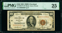 Fr. 1890-D* $100 1929 Federal Reserve Bank Note Star. PMG Very Fine 25
