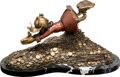 Animation Art:Maquette, Carl Barks Sport of Tycoons Uncle Scrooge Bronze Sculpture Limited Edition #84/100 (Walt Disney/Paul Vought, 1994)...