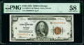 Small Size:Federal Reserve Bank Notes, Fr. 1890-G* $100 1929 Federal Reserve Bank Note Star. PMG Choice About Unc 58.. ...