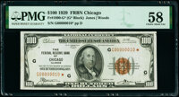 Fr. 1890-G* $100 1929 Federal Reserve Bank Note Star. PMG Choice About Unc 58
