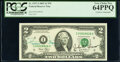 Rosario Marin and John T. Snow Dual Courtesy Autographed Fr. 1937-I $2 2003 Federal Reserve Notes. Two Consecutive Examp...