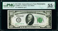 Small Size:Federal Reserve Notes, Fr. 2000-C* $10 1928 Federal Reserve Star Note. PMG About Uncirculated 55 EPQ.. ...