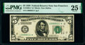 Small Size:Federal Reserve Notes, Fr. 1950-L* $5 1928 Federal Reserve Star Note. PMG Very Fine 25 EPQ.. ...