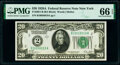 Small Size:Federal Reserve Notes, Fr. 2051-B $20 1928A Federal Reserve Note. PMG Gem Uncirculated 66 EPQ.. ...