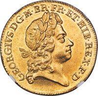 Great Britain: George I gold 2 Guineas 1726 MS65 NGC