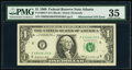 Error Notes:Mismatched Serial Numbers, Mismatched Serial Numbers Error Fr. 1903-F $1 1969 Federal Reserve Note. PMG Choice Very Fine 35.. ...