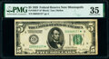 Small Size:Federal Reserve Notes, Fr. 1950-I* $5 1928 Federal Reserve Star Note. PMG Choice Very Fine 35.. ...