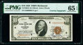 Small Size:Federal Reserve Bank Notes, Fr. 1860-E $10 1929 Federal Reserve Bank Note. PMG Gem Uncirculated 65 EPQ.. ...