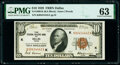 Fr. 1860-K $10 1929 Federal Reserve Bank Note. PMG Choice Uncirculated 63