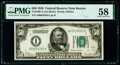 Small Size:Federal Reserve Notes, Fr. 2100-A $50 1928 Federal Reserve Note. PMG Choice About Unc 58.. ...