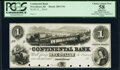 Obsoletes By State:Rhode Island, Providence, RI- Continental Bank $1 18__ Haxby Unlisted Proof PCGS Apparent Choice About New 58, POCs.. ...