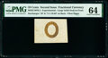 Fractional Currency:Second Issue, Milton 2E10FR.3 10¢ Second Issue Experimental PMG Choice Uncirculated 64.. ...
