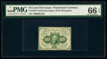 Fractional Currency:First Issue, Fr. 1240 10¢ First Issue PMG Gem Uncirculated 66 EPQ.. ...