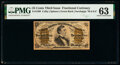 Fractional Currency:Third Issue, Fr. 1299 25¢ Third Issue PMG Choice Uncirculated 63.. ...